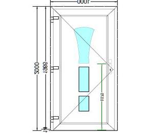 Sierdeurpaneel opening links 02