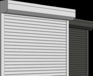 PVC RAMEN voorzetrolluiken