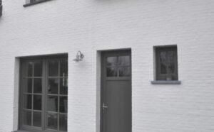 PVC DEUREN voordeur met bovenlicht