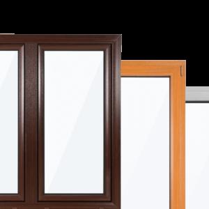 Pvc ramen kleurvarianten