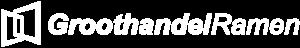 groothandelramen logo wit